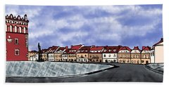 Sandomierz City Bath Towel