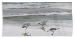 Sandpipers Bath Towel