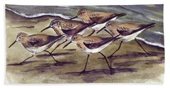 Sandpipers Hand Towel