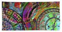 Bath Towel featuring the digital art Sands Of Time by Barbara Berney