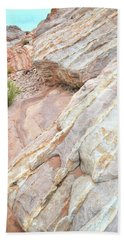 Hand Towel featuring the photograph Sandstone Cove In Valley Of Fire by Ray Mathis