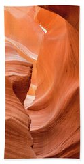 Bath Towel featuring the photograph Sandstone Swirls  by Jeanne May