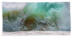 Sandy Beach Surf Hand Towel