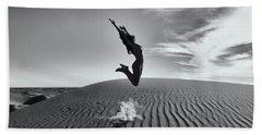 Sandy Dune Nude - The Jump Hand Towel