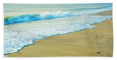 Sandy Hook Beach, New Jersey, Usa Bath Towel