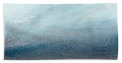 Sandy Shore- Art By Linda Woods Hand Towel by Linda Woods