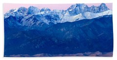Sangre De Christo And The Great Sand Dunes National Park Hand Towel