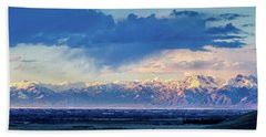 Sangre De Cristo Mountains Of Colorado Panorama Hand Towel