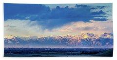 Sangre De Cristo Mountains Of Colorado Panorama Hand Towel
