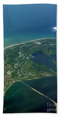 Sanibel Island, Fl Hand Towel by Skip Willits