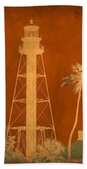 Sanibel Island Lighthouse Hand Towel
