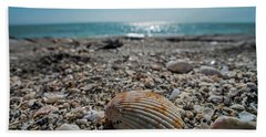 Sanibel Island Sea Shell Fort Myers Florida Hand Towel
