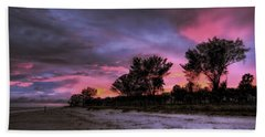 Sanibel Island Twilight Bath Towel