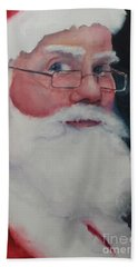 Naughty Or Nice ? Santa 2016 Bath Towel