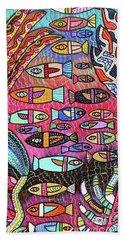 Santa Catalina Island Reef  Hand Towel