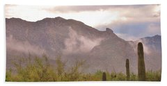 Santa Catalina Mountains II Bath Towel
