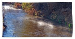 Santa Cruz River - Arizona Bath Towel