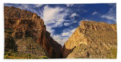 Santa Elena Canyon 3 Bath Towel by Judy Vincent