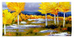 Santa Fe Aspens Series 2 Of 8 Bath Towel