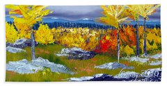 Santa Fe Aspens Series 5 Of 8 Bath Towel