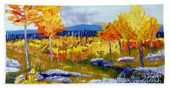 Santa Fe Aspens Series 6 Of 8 Bath Towel