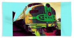Santa Fe Railroad New Mexico Bath Towel