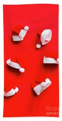 Santa Hat Party Hand Towel
