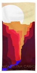 Santa Helena Canyon 1  Hand Towel