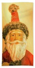 Santa Is Watching Bath Towel