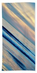 Bath Towel featuring the photograph Santa Monica Sunset by Kyle Hanson