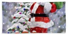 Santa's Helpers Hand Towel