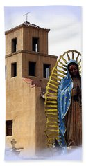 Hand Towel featuring the photograph Santuario De Guadalupe Santa Fe New Mexico by Kurt Van Wagner