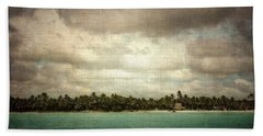 Saona Island , Santo Domingo Bath Towel