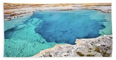 Sapphire Pool, Biscuit Basin Hand Towel