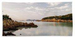 Sardinian Coast I Hand Towel by Yuri Santin