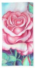 Saturday Rose Bath Towel