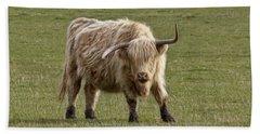 Sauvie Island Cow Bath Towel