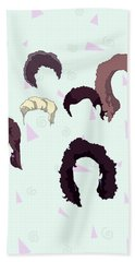 Saved By The Hair Hand Towel