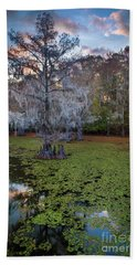 Saw Mill Pond Tree Hand Towel