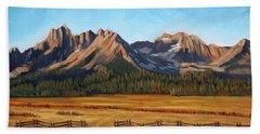 Sawtooth Mountains - Iron Creek Hand Towel