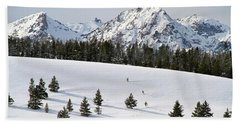Sawtooth Wilderness Central Idaho Bath Towel