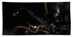 Saxophone Jazz Hand Towel