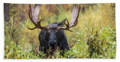 Bath Towel featuring the photograph Say Hello To Custer by Yeates Photography