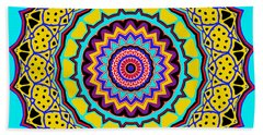 Bath Towel featuring the digital art Scalloped by Joy McKenzie
