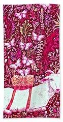 Scapegoat Healing In Fuchsia Bath Towel