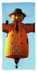 Scarecrow Balloon Bath Towel