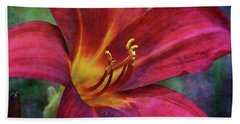 Scarlet And Gold Dust 3716 Idp_2 Hand Towel