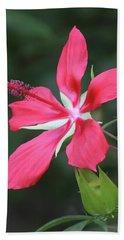 Scarlet Hibiscus #4 Hand Towel
