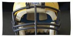 Scarred 1980s Wolverine Helmet Bath Towel