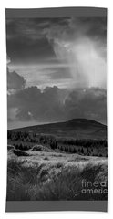 Scattering Clouds Over The Cronk Hand Towel